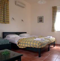 low cost apartments on Tersanas Crete Greece
